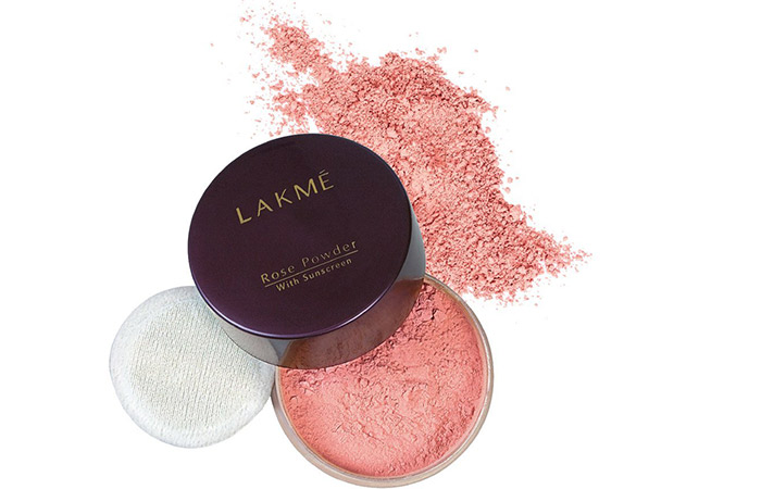 Lakme Rose Face Powder - Soft Pink