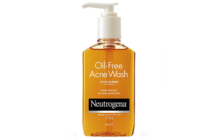 6. Neutrogena Oil Free Acne Wash