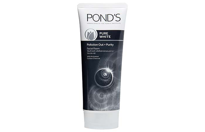 6. Pond's Pure White Deep Cleansing Facial Foam