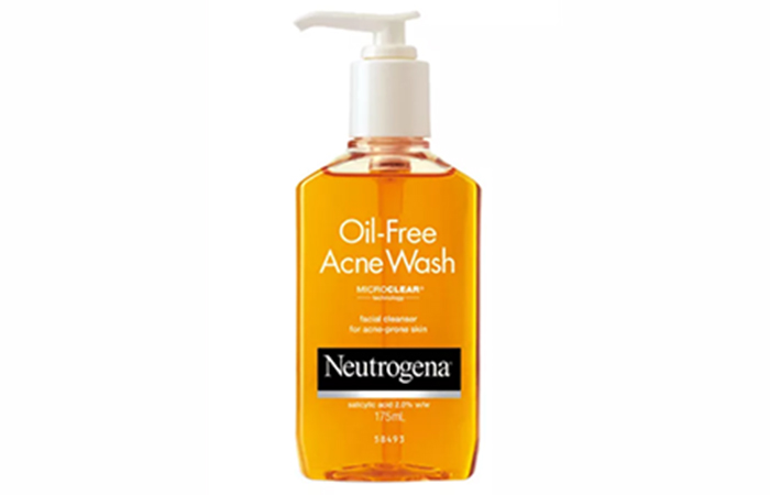 Neutrogena Oil-Free Acne Wash - Best Face Washes