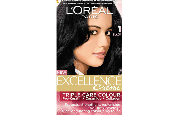 Best L'oreal Hair Color Products - Black 01