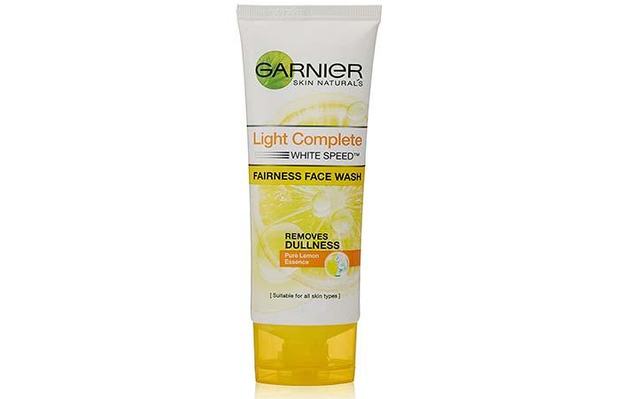 7. Garnier Light Complete Fine Fairness Face Wash