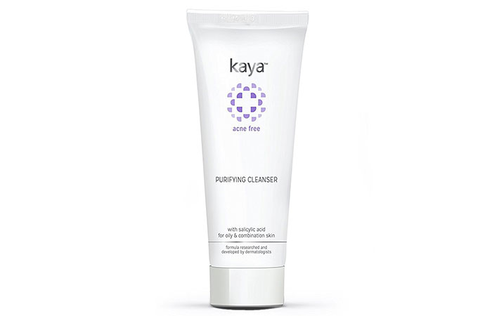 7. Kaya Acne Free Purifying Cleanser