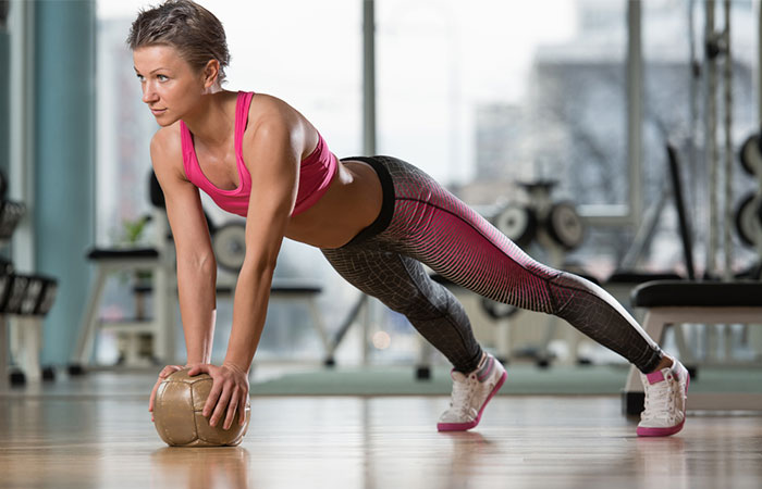 Medicine Ball Exercises - Medicine Ball Burpees