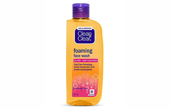 Clean & Clear Foaming Face Wash - Best Face Washes
