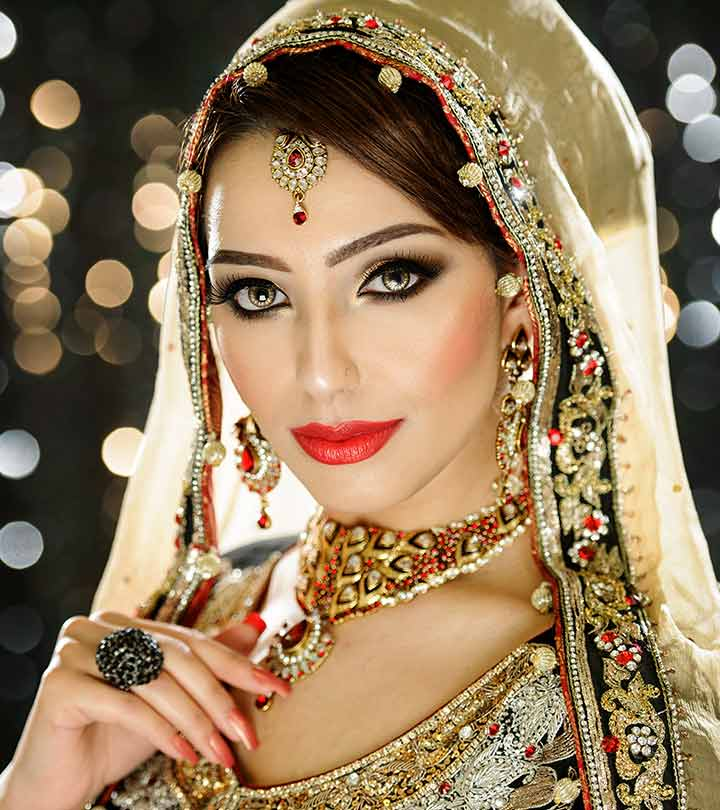 c1f46341f7 40 Indian Bridal Hairstyles Perfect For Your Wedding