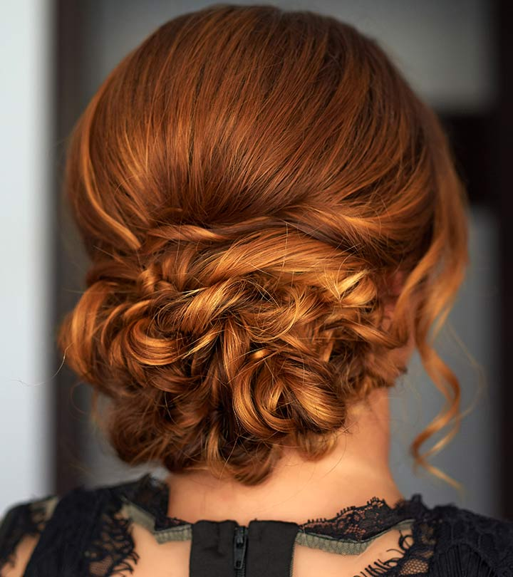 Medium Length Hair Special Occasion Prom Updos
