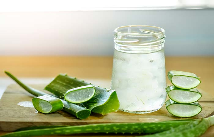 8. Aloe Vera For Hair Straightening
