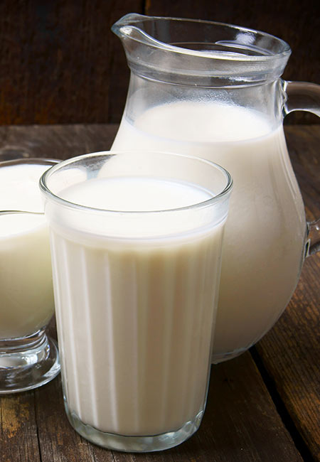 8. Cold Milk