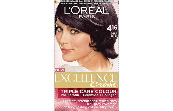 Best L'oreal Hair Color Products - Deep Plum 416