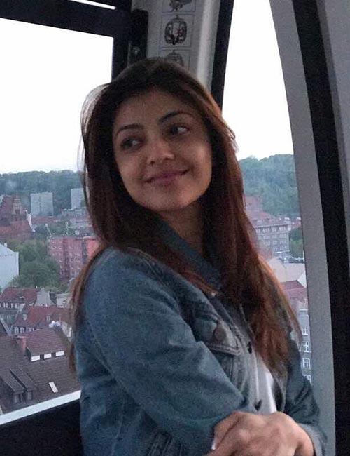 Kajal Aggarwal's Stunning Look in Denim Jacket