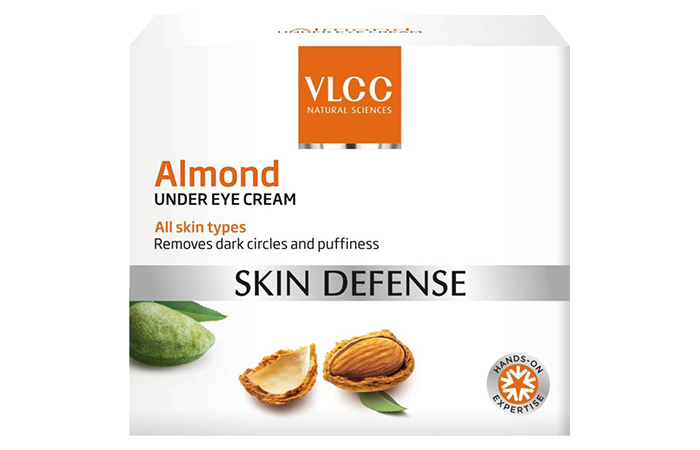 8. VLCC Skin Defense Almond Under Eye Cream