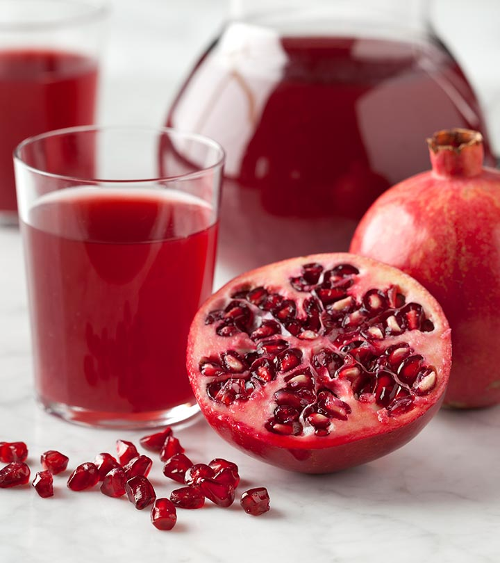 17 Best Benefits Of Pomegranate Juice (Anar Ka Ras) For Skin, Hair And Health