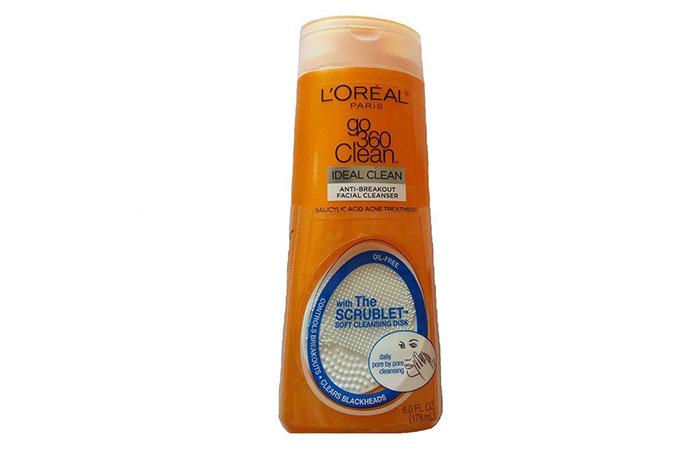 9. L'Oreal Paris Go 360 Clean