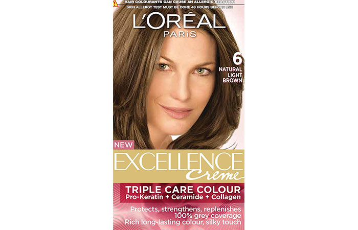 Best L'oreal Hair Color Products - Natural Light Brown 06