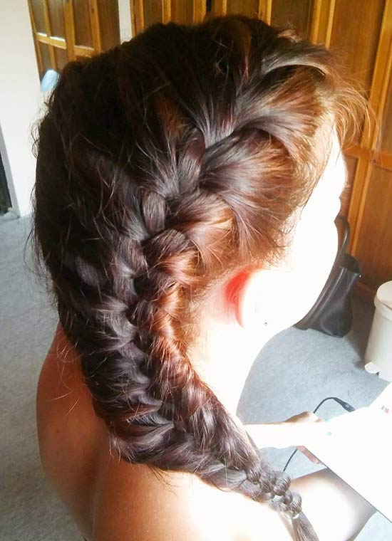 9. Side French Braid