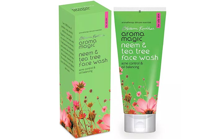 Aroma Magic Neem And Tea Tree Face Wash - Face Washes For Oily Skin