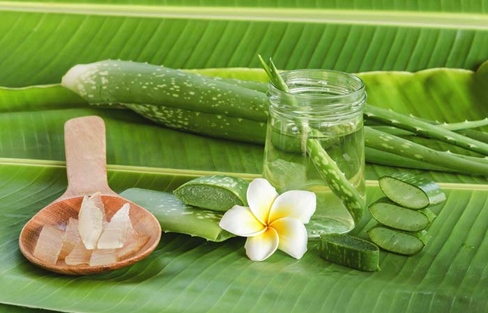 Banana And Aloe Vera Hair Mask
