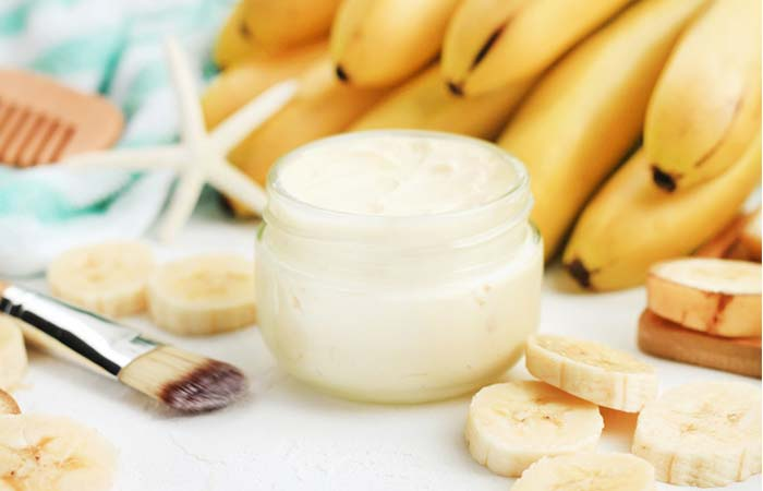 Banana And Yogurt Hair Mask