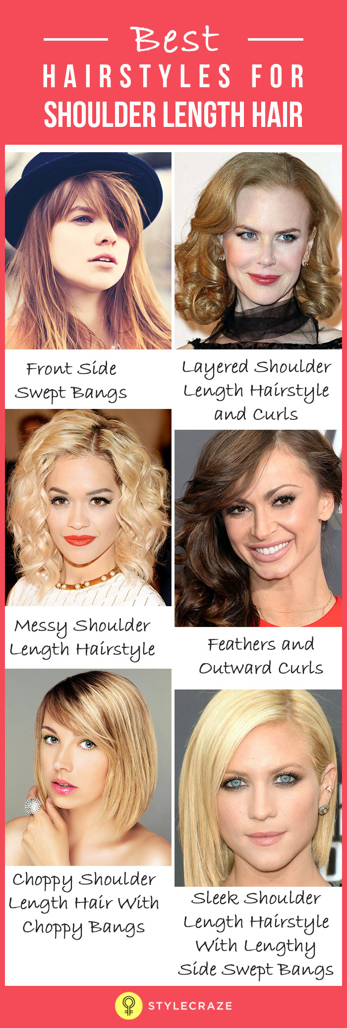 Best Hairstyles For Shoulder Length Hair – My Top 10