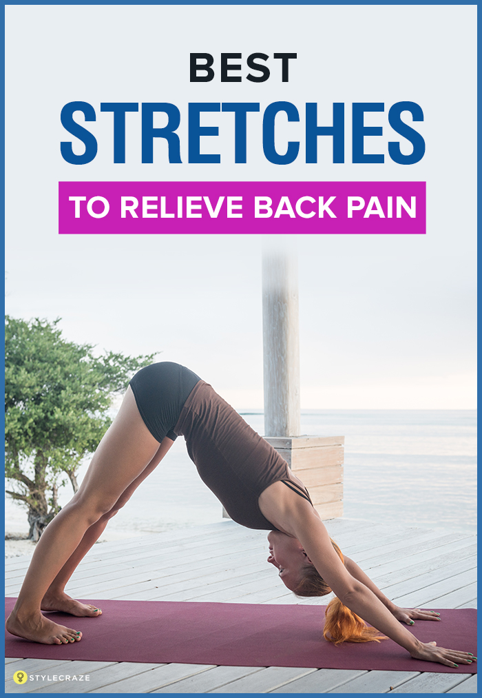 Best Stretches To Relieve Back Pain 1
