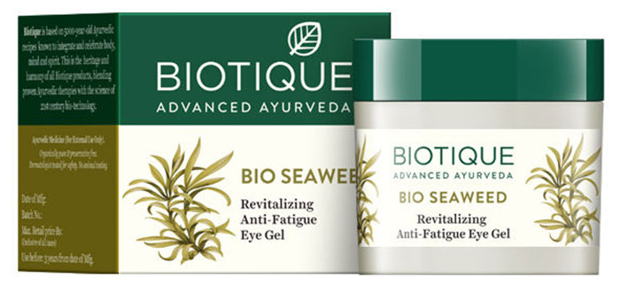 Biotique Bio Seaweed Revitalizing Anti-Fatigue Гель Для Глаз