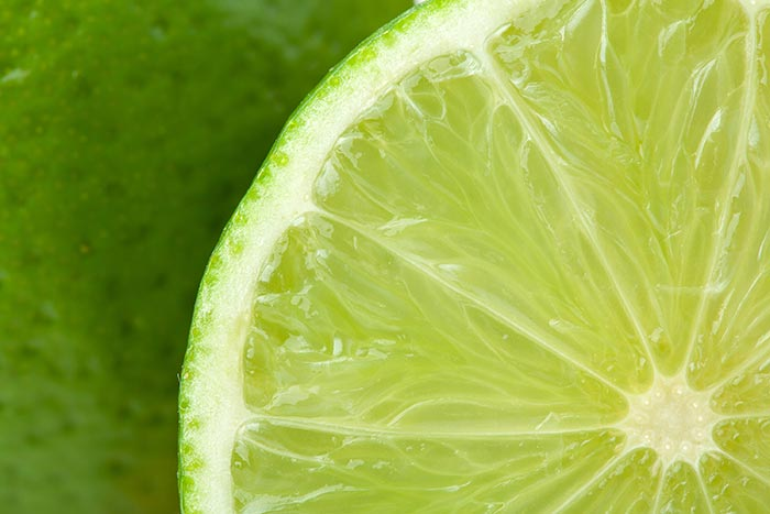 Bleaching The Color With Lime