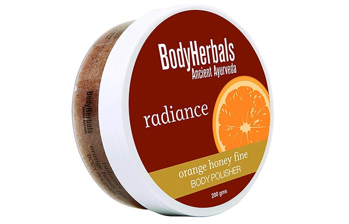 BodyHerbals Radiance Orange Honey Fine Body Polisher