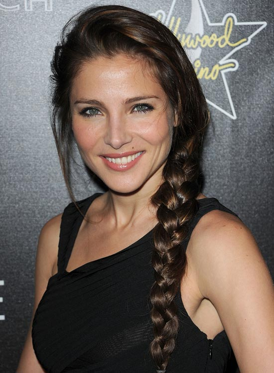 Brunette-Backcombed-Braid