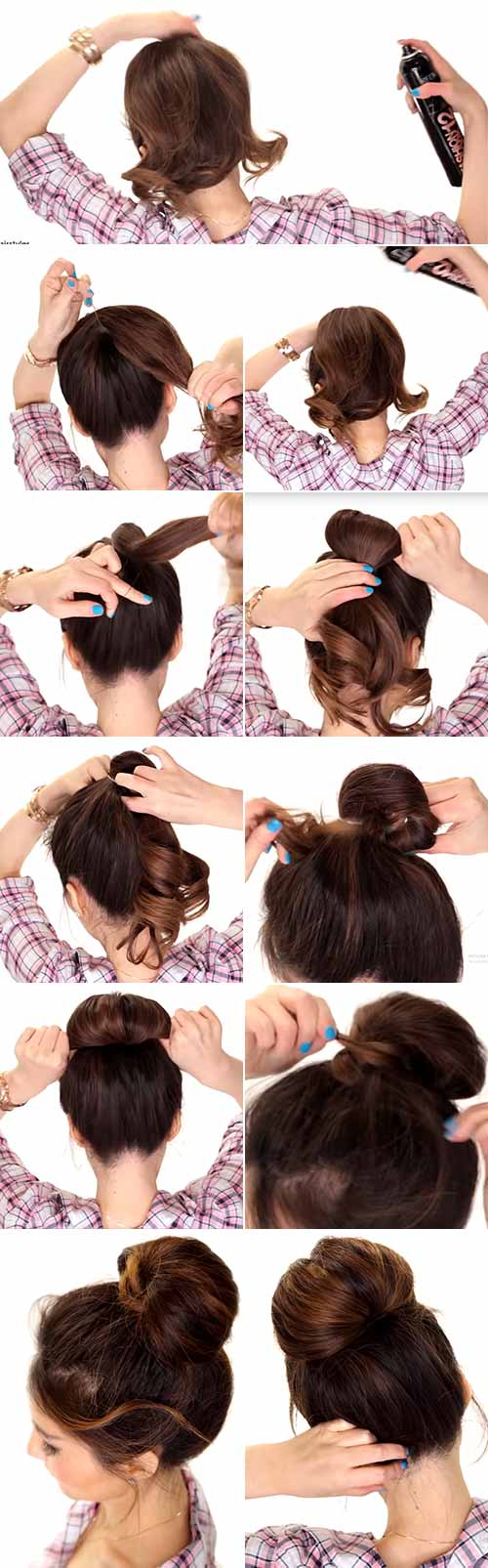 Bubble Top Knot