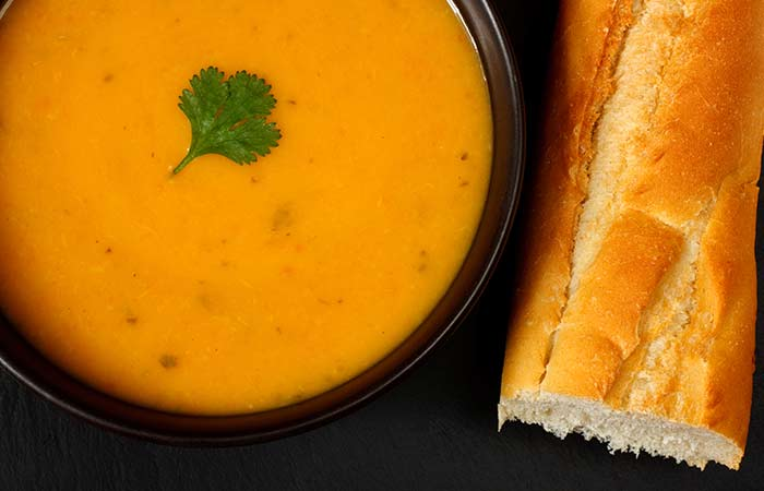 Carrot-and-coriander-soup