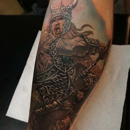 Celtic Warrior Tattoos