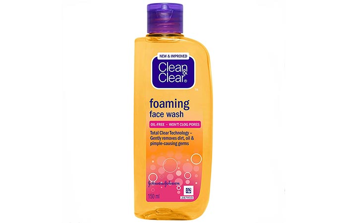 Clean & Clear Foaming Face Wash - Face Washes For Oily Skin