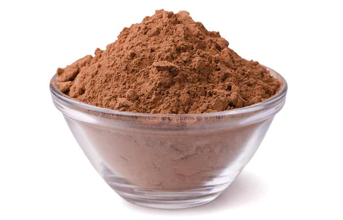 Get Rid Of Oily Hair Naturally - Cocoa Powder