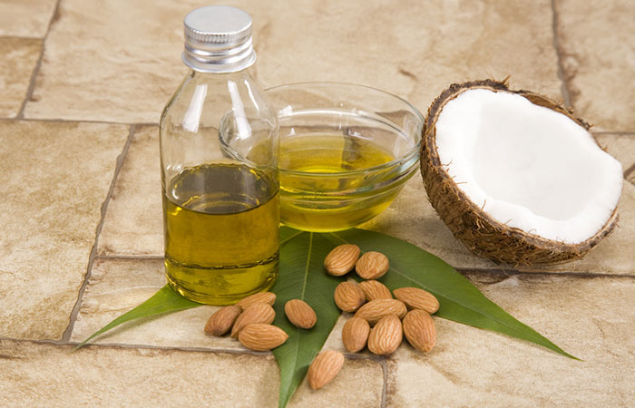 Coconut-Almond-Oil-And-Tea-Tree-Oil-For-Acne