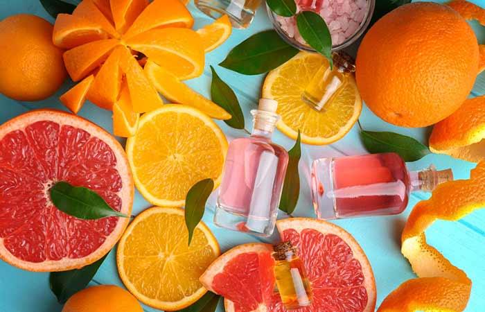 DIY Citrus Perfume Recipe