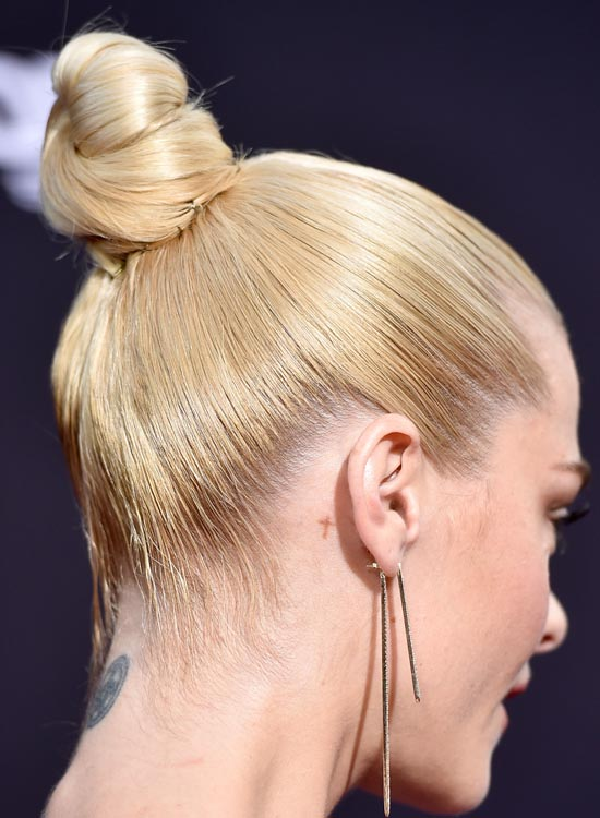 Bun Hairstyles For Long Hair - Easy-and-Convenient-Ballet-Bun