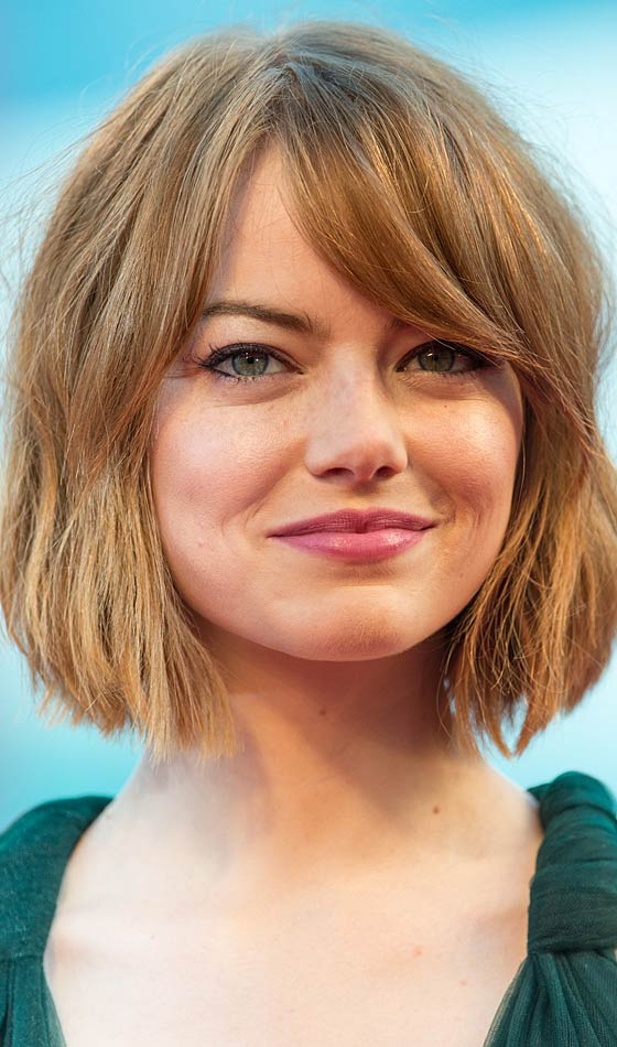 Outstanding 10 Celebrity Hairstyles With Round Faces Short Hairstyles Gunalazisus