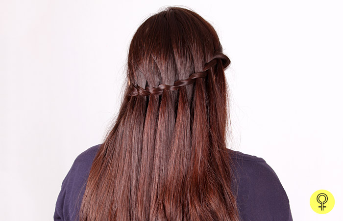 Hair Style Step By Step Inspiration How To Make A Waterfall Braid A Stepstep Tutorial
