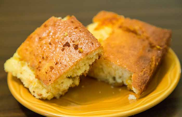 Weight Gain Foods And Supplements - Corn Bread