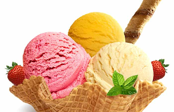 Weight Gain Foods And Supplements - Ice Cream