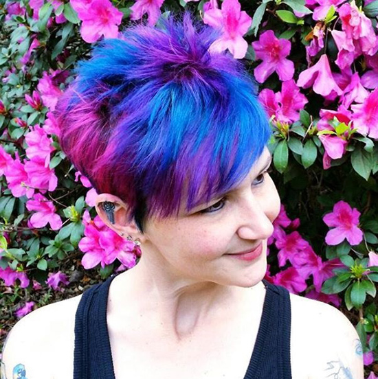38 Funky Hairstyles For Short Hair