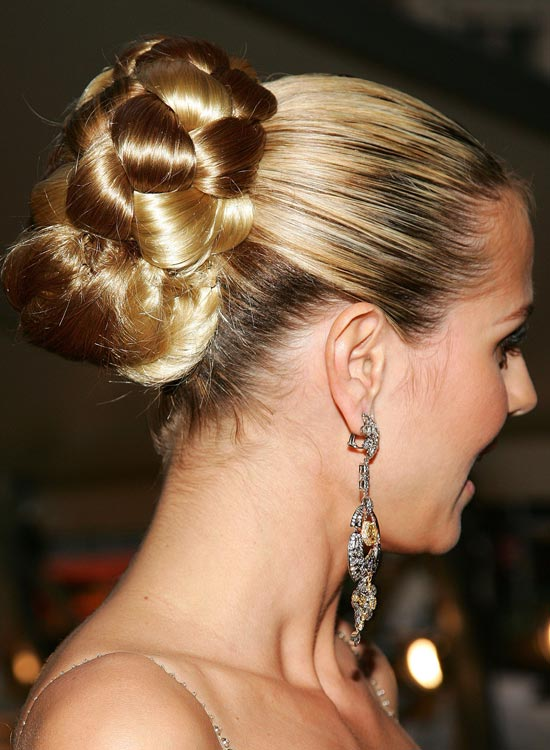 Bun Hairstyles For Long Hair - Gigantic-Half-n-Half-Bun-with-Smooth-Finish