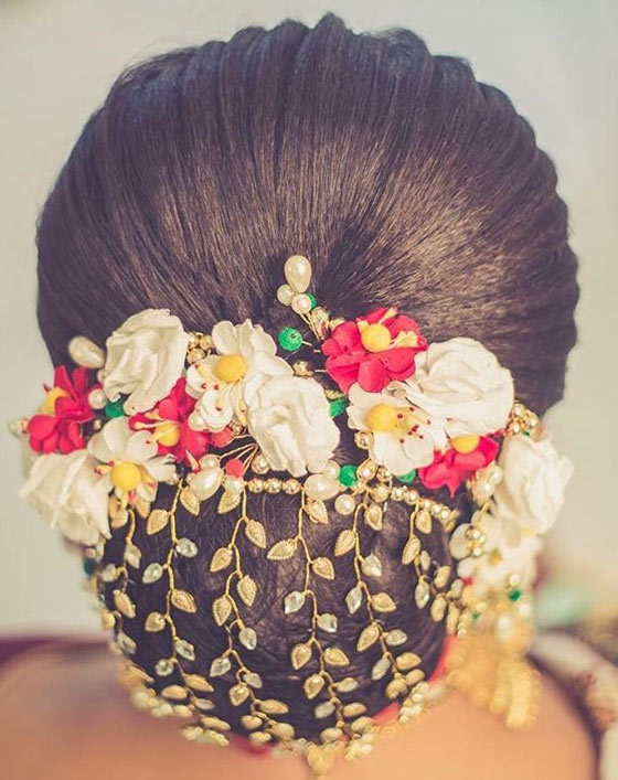 40 Indian Bridal Hairstyles Perfect For Your Wedding