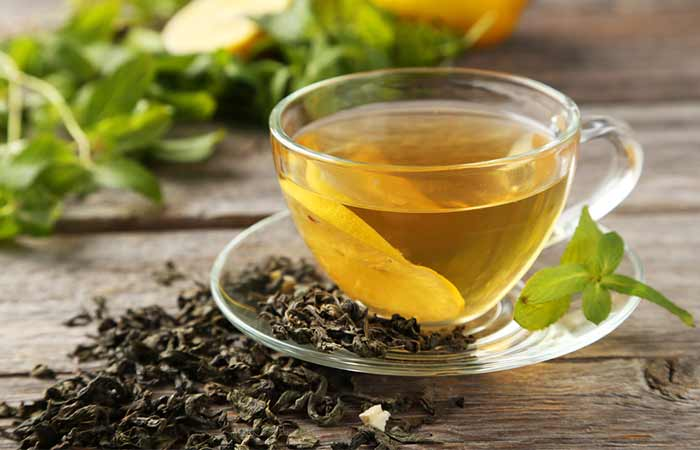 Get Rid Of Oily Hair Naturally - Green Tea