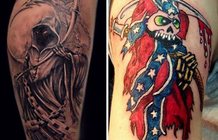 Grim Reaper Tattoo Designs
