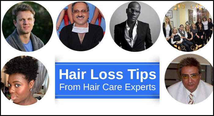 Hair Loss Tips From Hair Care Experts