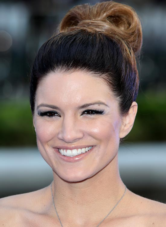 High-folded-Ponytail-with-Highlights-and-Hair-Wrap