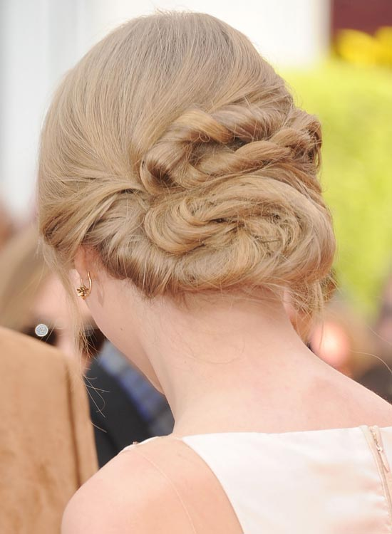 Highly Twisted Low Bun