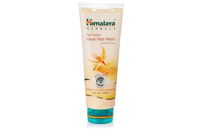 Himalaya Herbals Fairness Kesar Face Wash - Skin Whitening Face Washes